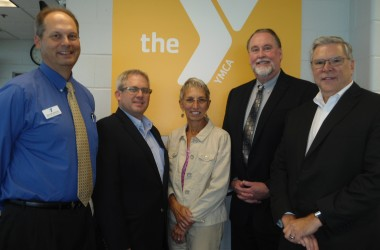 Pictured from left to right: Rob Wilkinson, Heath Bell, Cindy Capek, Dr. Douglas Moeller & Keith Foster
